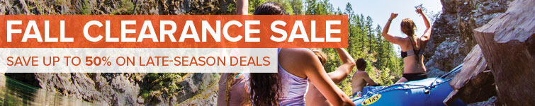 Summer is over, but the fun is not. Fall Clearance Sale: Save up to 50% on late-season deals.