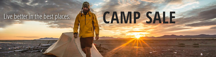 Live better in the best places: NRS Camp Sale