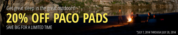 20% OFF PACO PADS: Save big for a limited time!
