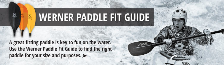 Werner Paddle Fit Guide