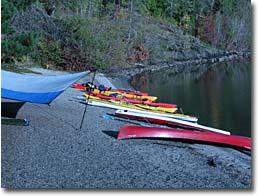Camp on Priest Lake