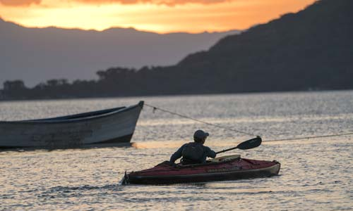 Paddling the African Great Lakes