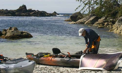 Bunsby Islands and the Electric Kayak