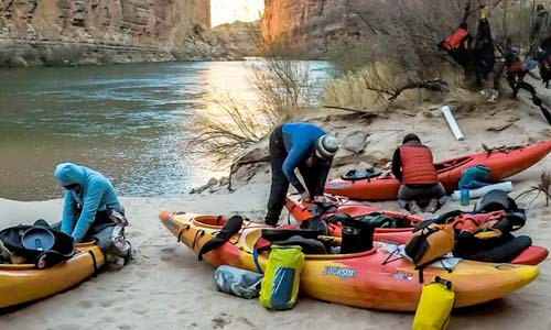 Self-Support Kayaking the Grand Canyon Is for Chumps