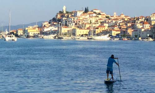 Sailboat to SUP Through the Greek Isles