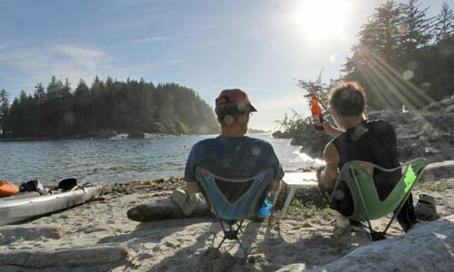 Sea Kayak Camping: Staying Ahead of the Curves