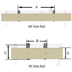 NRS Side Rail Racks