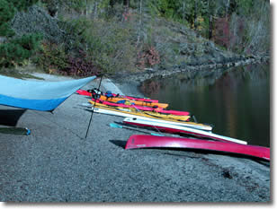 Outfitters can organize and plan flat water trips.