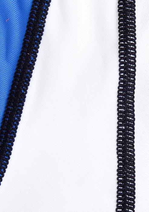 Flat-lock stitch shown on a shirt