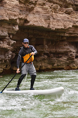 U.S. Coast Guard Regulations for Stand Up Paddlers: wear that pfd!